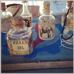 Snake Oil, Anyone?  Creative Commons Image Attribution